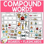 Compound Word Boards + Flashcards ~Digital Download~