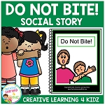 Social Story Do Not Bite! ~Digital Download~
