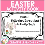 Easter Following Directions Book ~Digital Download~