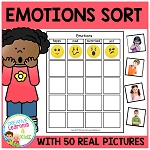 Emotions Feelings Sorting Board - Digital Download