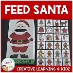 Feed Santa Cookies Activity Christmas ~Digital Download~