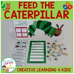 Feed the Caterpillar - Activity Cut-Out ~Digital Download~