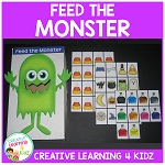 Feed the Monster Following Directions Halloween ~Digital Download~