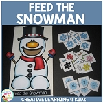 Feed the Snowman ~Digital Download~
