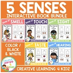 Five Sense Interactive Book Bundle ~Digital Download~