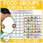 Food Group Sorting Board ~Digital Download~