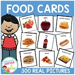 Food Cards 300 Real Pictures ~Digital Download~