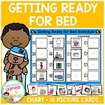 Getting Ready for Bed Schedule ~Digital Download~