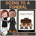 Social Story Going to a Funeral ~Digital Download~