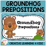 Groundhog Prepositions Book ~Digital Download~