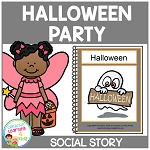 Social Story Halloween ~Digital Download~