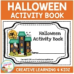 Halloween Activity Book ~Digital Download~