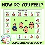 How Do You Feel? Communication Board ~Digital Download~