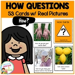 How Question Cards ~Digital Download~