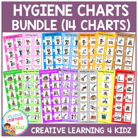 Hygiene Charts Bundle ~Digital Download~