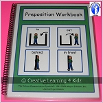 Preposition Interactive Workbook ~Digital Download~