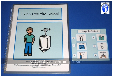 Social Story I Can Use The Urinal Digital Download