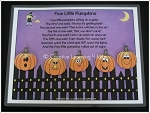 Five Little Pumpkins Activity Halloween ~Digital Download~