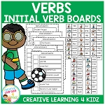 Verbs Initial Verb Boards ~Digital Download~