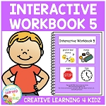 Interactive Workbook 5 ~Digital Download~