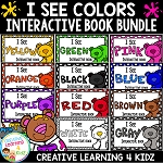 Colors I See Colors Interactive Book Bundle ~Digital Download~