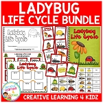 Ladybug Life Cycle Unit ~Digital Download~
