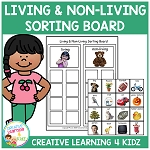 Living & Non-Living Sorting Board ~Digital Download~