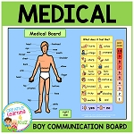Health Medical Board Boy ~Digital Download~