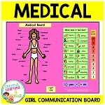 Health Medical Board Girl ~Digital Download~