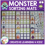 Monster Matching & Sorting Boards ~Digital Download~