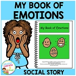 Social Story My Book of Emotions Feelings ~Digital Download~