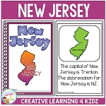 State Book New Jersey ~Digital Download~