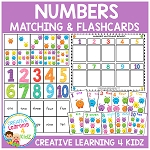 Number Board & Flashcards ~Digital Download~