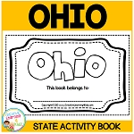 OHIO State Activity Book ~Digital Download~
