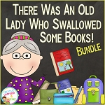 There Was an Old Lady Who Swallowed Some Books! Bundle ~Digital Download~