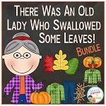 There Was an Old Lady Who Swallowed Some Leaves! Bundle ~Digital Download~