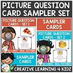 Picture Question Inference Card Sampler ~Digital Download~