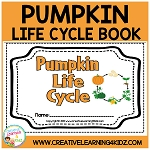 Pumpkin Life Cycle Cut & Paste Book ~Digital Download~