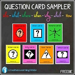 Question Card Sampler 14 Cards ~Digital Download~