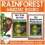 Rainforest Habitat Books ~Digital Download~