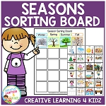 Season Sorting Board ~Digital Download~