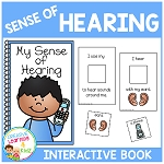 Sense of Hearing Interactive Book ~Digital Download~