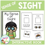 Sense of Sight Interactive Book ~Digital Download~