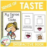 Sense of Taste Interactive Book ~Digital Download~