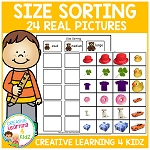 Size Sorting Board ~Digital Download~