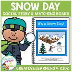Snow Day Social Story ~Digital Download~