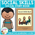 Social Story Social Skills Book ~Digital Download~