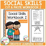 Cut & Paste Social Skills Workbook 2 ~Digital Download~