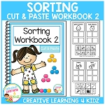 Cut & Paste Sorting Workbook 2 ~Digital Download~