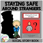 Social Story Staying Safe Around Strangers ~Digital Download~